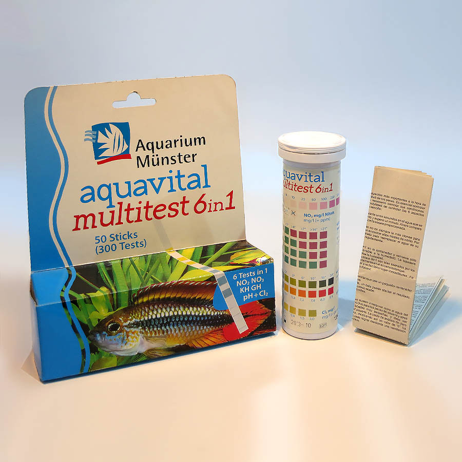مولتی‌تستر  Aquarium Munster مدل «aquavital multitest 6in1»